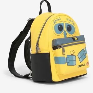 LOUNGEFLY DISNEY PIXAR WALL-E LEATHER BACKPACK